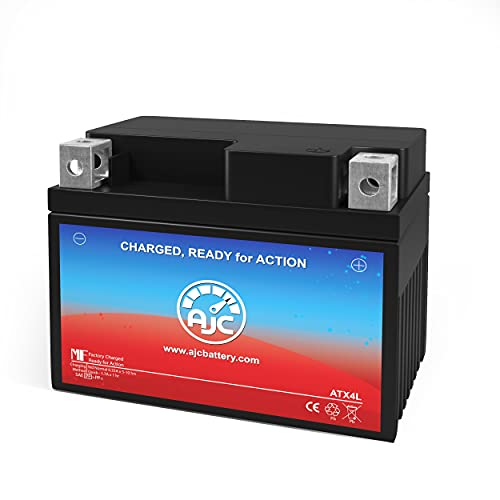 AJC Battery Compatible with Yamaha SH50 Riva Razz 50CC Scooter and Moped...