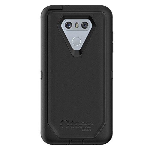 OtterBox DEFENDER SERIES Case for LG G6 - Retail Packaging - BLACK