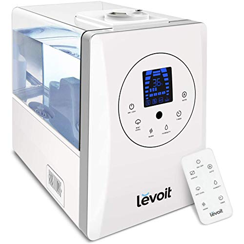 LEVOIT Humidifiers for Bedroom Large Room 6L Warm and Cool Mist for...