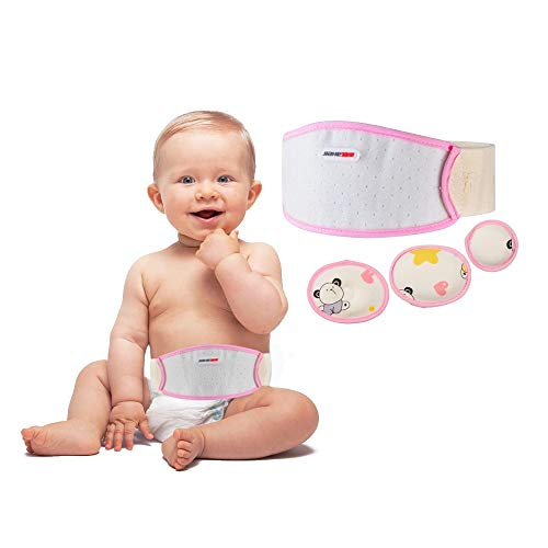 Umbilical Hernia Belt Baby Belly Button Band Infant Newborn Belly Band Wrap...