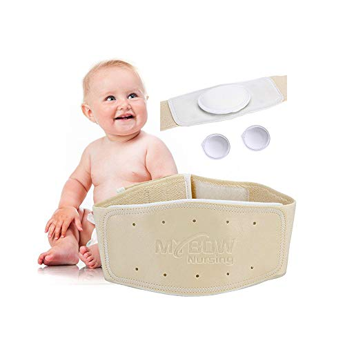 Umbilical Hernia Belt Baby Belly Button Band Infant Belly Wrap Abdominal...