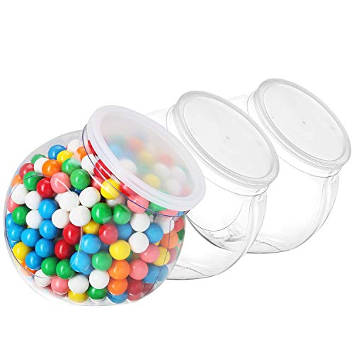 48oz Candy Jars with Airtight Lids - Cookie Jars for Kitchen Counter -...