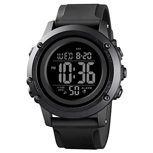 Men's Digital Sports Watch Large Face Waterproof Wrist Watches for Men with...
