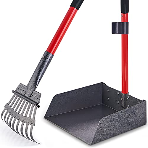 Pawler Bigger Dog Pooper Scooper for Large and Small Dogs, Easy to Use Rake...