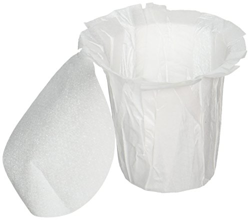 EZ-Carafe Disposable K-Carafe Paper Filters with Patented Top Lid |...