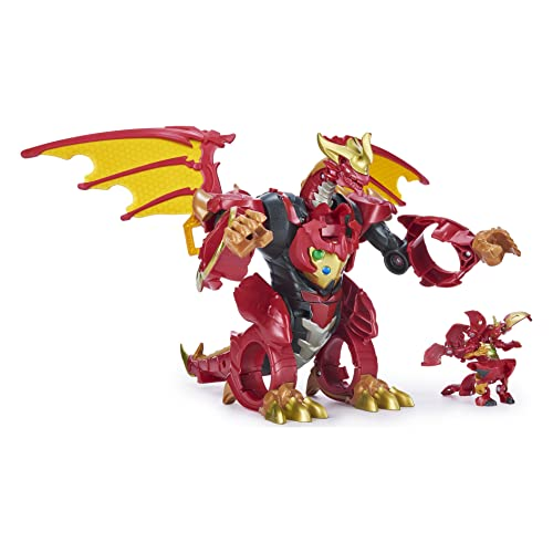 Bakugan, Dragonoid Infinity Transforming Figure with Exclusive Fused Ultra...
