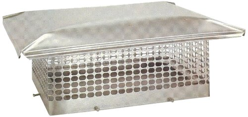 The Forever Cap CCSS1414 13 x 13-Inch Stainless Steel 5/8-Inch Spark...