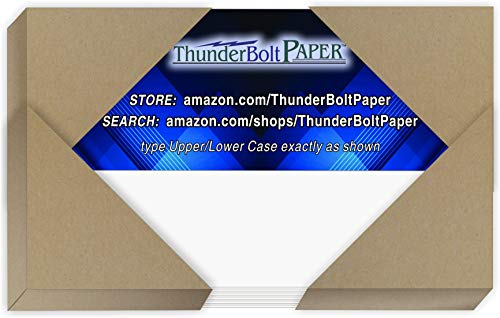 100 Bright White Smooth Card Sheets - 80# Cover Weight - 3' X 5' (3X5...