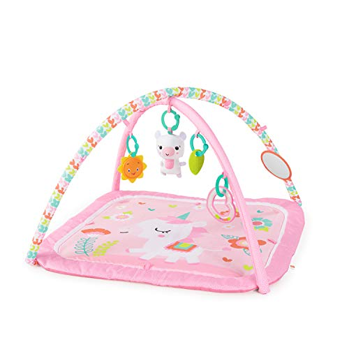 Bright Starts Daydream Blooms Activity Gym & Play Mat with Take-Along Toys,...