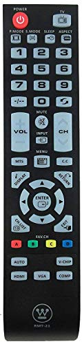 New RMT-21 Remote Control Replacement for Westinghouse TV CW50T9YW CW40T8GW...