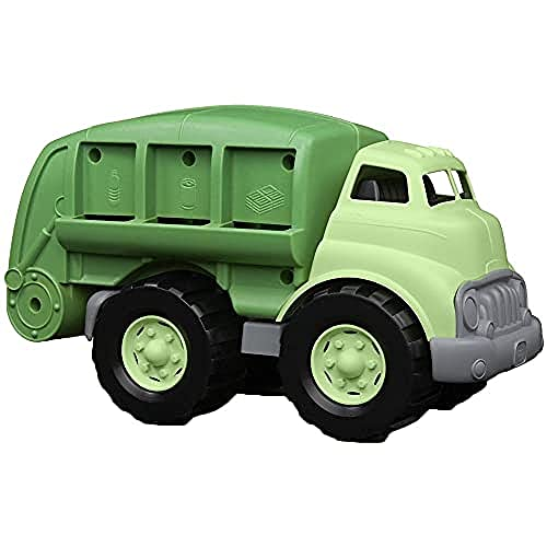 Green Toys Recycling Truck in Green Color - BPA Free, Phthalates Free...