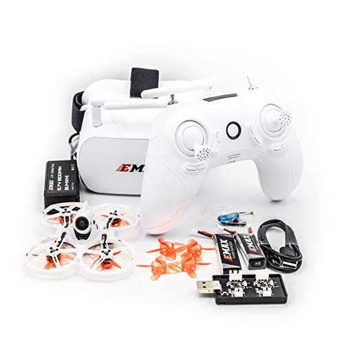 EMAX Tinyhawk 2 II RTF Kit FPV FRSKY Camera Racing Drone with Goggles and...