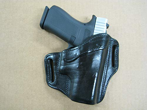 Azula Leather 2 Slot Molded Pancake Leather Pistol Holster for The Sig...