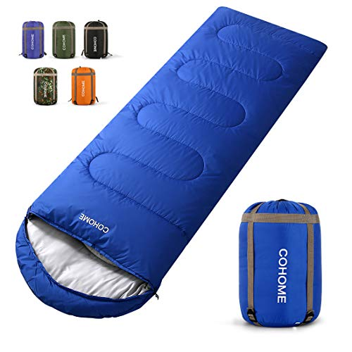 COHOME Sleeping Bag - Adults & Kids (Summer)-Warm and Cold Weather...