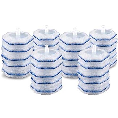 Clorox ToiletWand Disinfecting Refills, Disposable Wand Heads, blue...