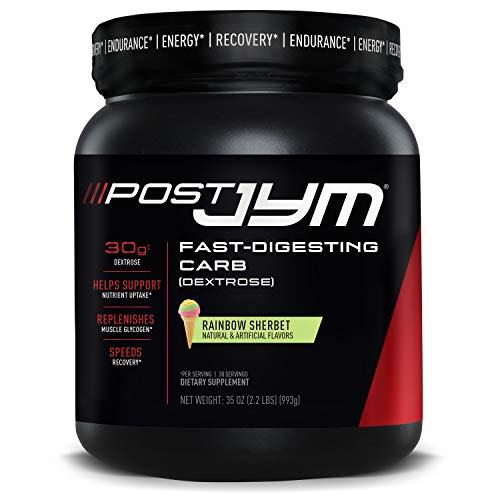 JYM Supplement Science Post FastDigesting Carb PostWorkout Recovery Pure...