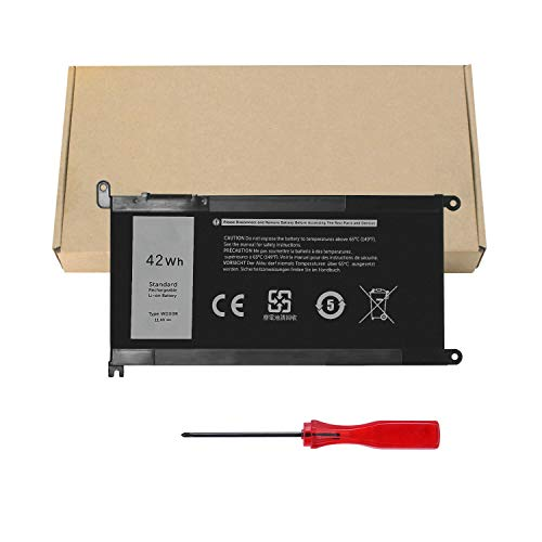 WDX0R Laptop Battery for Dell Inspiron 13 5368 5378 5379 7368 7378 Inspiron...
