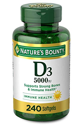 Vitamin D3 by Nature's Bounty for Immune Support. Vitamin D Provides...