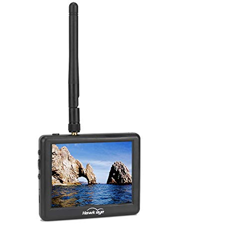 FPV Monitor 5.8G with DVR LCD 3.5Inch LCD Monitor/Display Screen Receiver...