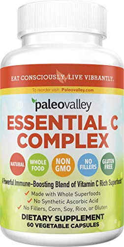 Paleovalley: Essential C Complex - Vitamin C Food Supplement with Organic...