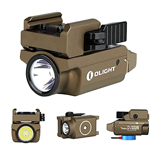 OLIGHT PL-Mini 2 Valkyrie 600 Lumens Magnetic USB Rechargeable Compact...