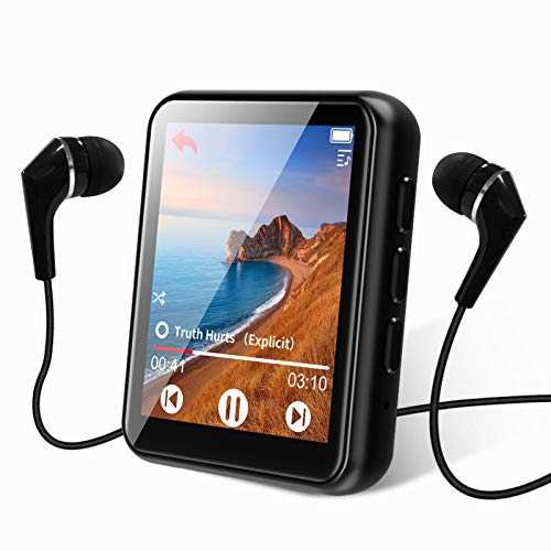 MP3 Player Bluetooth 5.0 Touch Screen Music Player 16GB Portable MP3 Player...