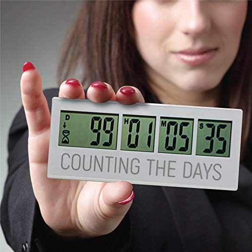 Reusable Countdown Clock for All of The Big Events in Your Life, Wedding...