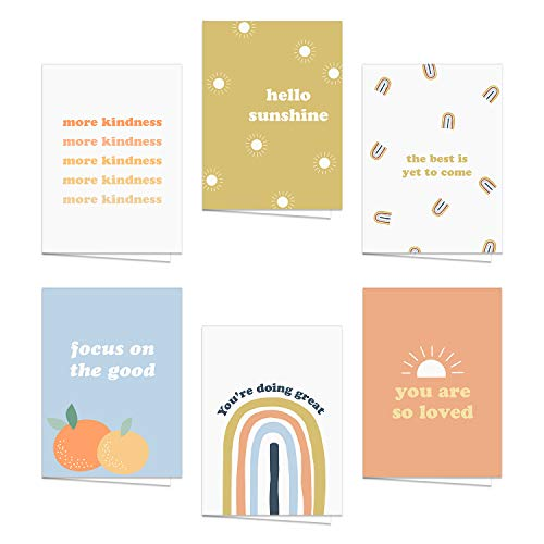 Encouraging & Inspirational Retro Greeting Cards / 24 All Occasion Vintage...