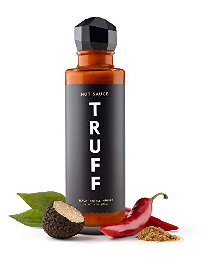 TRUFF Hot Sauce, Gourmet Hot Sauce with Ripe Chili Peppers, Black Truffle...