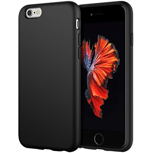 JETech Silicone Case Compatible with iPhone 6s/6 4.7 Inch, Silky-Soft Touch...