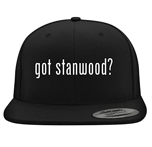 BH Cool Designs got Stanwood? - Yupoong 6089 Structured Flat Bill Snapback,...