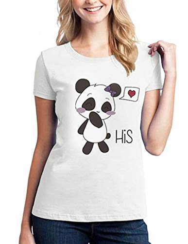His Hers T-Shirts for Couples,Matching Couples Shirt Couple Tshirts Funny...