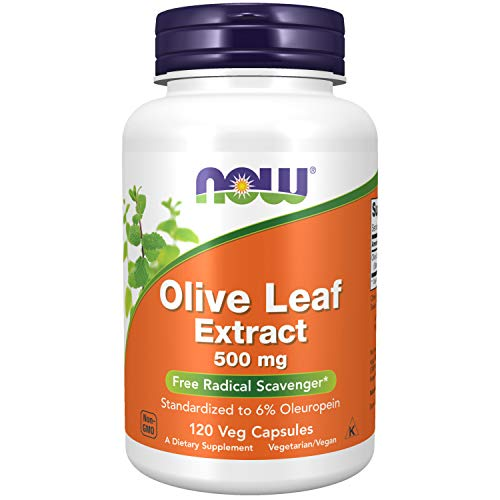 Now Foods Supplements, Olive Leaf Extract 500 mg, Free Radical Scavenger*,...