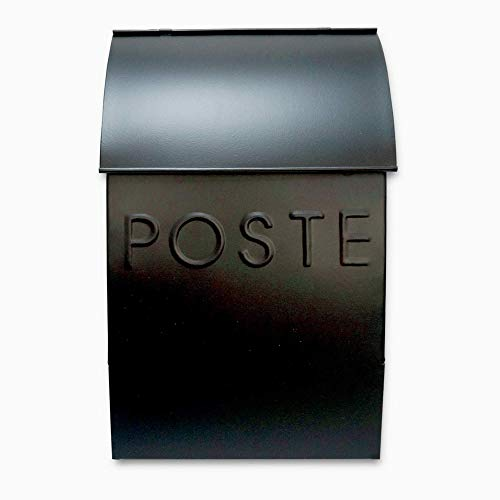 NACH TH-10035 French POSTE Milano Pointed Mailbox - Wall Mounted Post Box,...