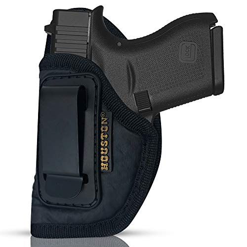 ECO Leather Concealment Holster Inside The Waistband IWB with Metal Clip...