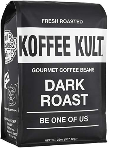 Koffee Kult Coffee Beans Dark Roasted - Highest Quality Delicious...