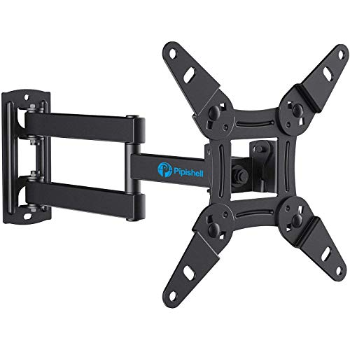 Full Motion TV Monitor Wall Mount Bracket Articulating Arms Swivels Tilts...