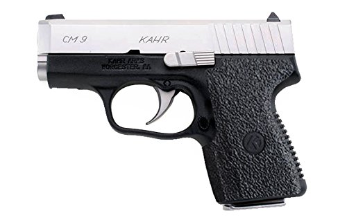 Galloway Precision TractionGrips Grip Overlay in Black for Kahr CM9 Pistols