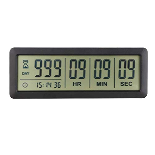 Searon Retirement Clock Countdown KT100B 999 Days Event Reminder Magnetic...