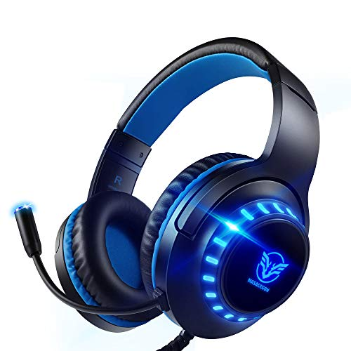 Pacrate Gaming Headset with Microphone for Laptop Computer PC Xbox Headset...
