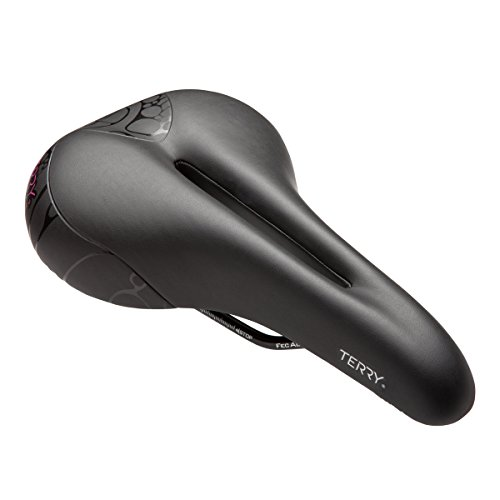 Terry Butterfly Cromoly Gel Bike Saddle | Bicycle Seat Optimized For Women...