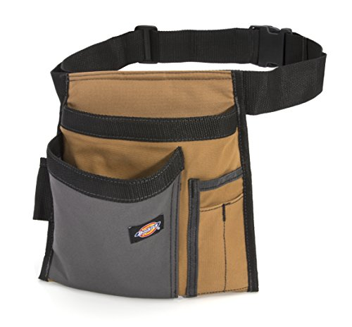 Dickies 5-Pocket Single Side Tool Belt Pouch/Work Apron for Carpenters and...