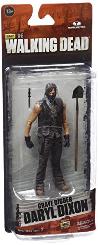 McFarlane Toys The Walking Dead TV Series 7 Exclusive Grave Digger Daryl...