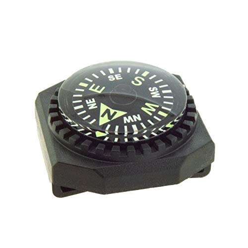 Sun Company Slip-On Wrist Compass - Easy-to-Read Compass for Watch Band or...