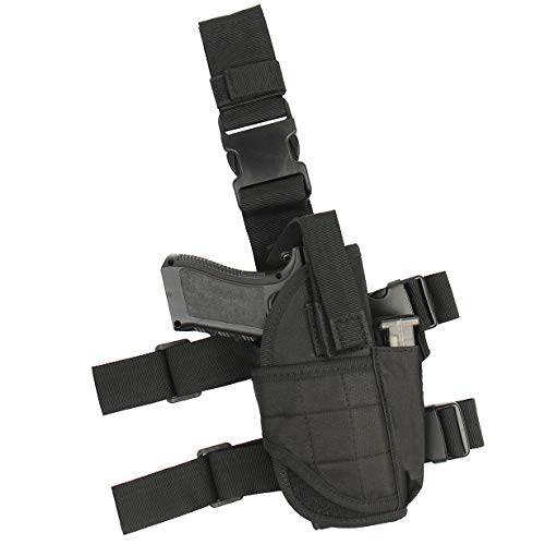 ASETIC Drop Leg Holster for Pistol- Right Handed Tactical Thigh Airsoft...