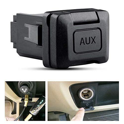 AORRO Auxiliary Port Replacement for Honda Civic 06-11, CRV 09-11, Acura...