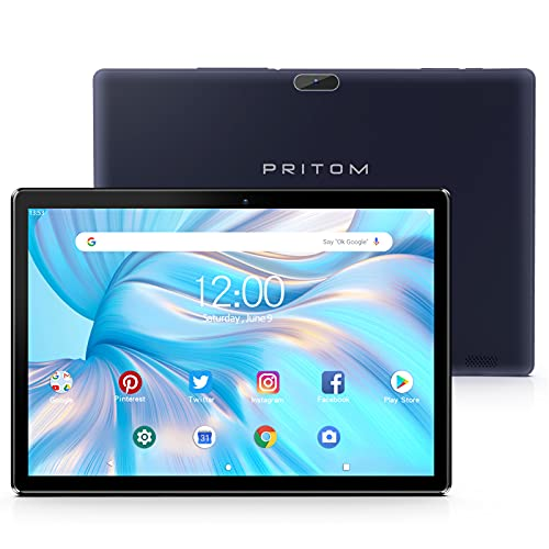 Pritom TronPad 10 inch Tablet - Android Tablet GMS Certified, 2GB RAM, 32GB...