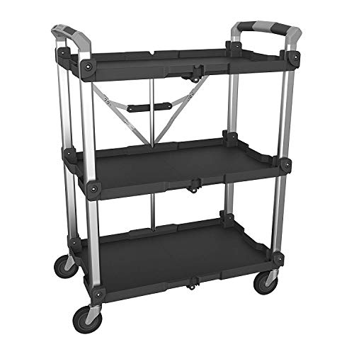 Olympia Tools 85-189 Pack N Roll Collapsible Service Cart, XL, 300LB...