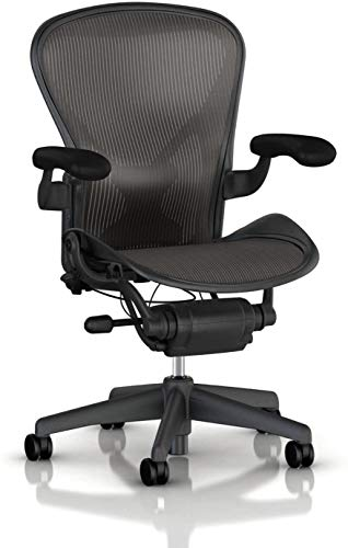 Herman Miller Aeron Office Chair-Size B Fully Loaded with Posture Fit Back...
