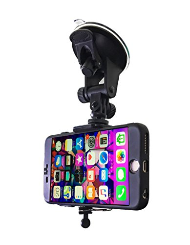 Car Phone Mount - Cell Phone Holder for Car Windshield Compatible with...